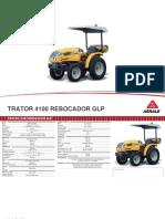 Tratores Industriais Trator Agrale 4100 Rebocador Glp 1