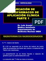 Marcacion de Radiofarmacos de Aplicacion Clinica Primera Parte