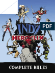 Heroclix Indy - Rulebook (2003)