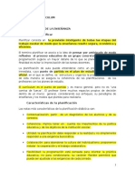 La planificacion - Didactica y curriculum