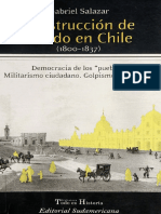 Construccion de Estado Chile