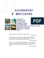 groundwater   wetlands notes kean university