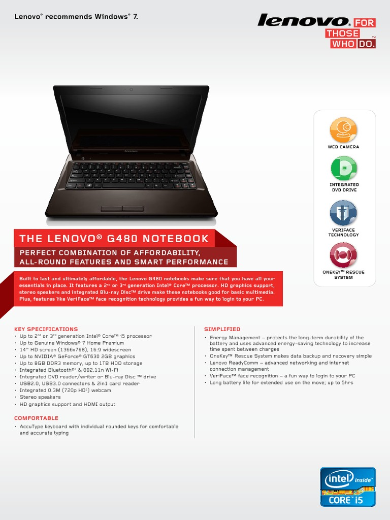 lenovo veriface recognition download