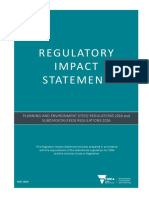 Regulatory Impact Statement
