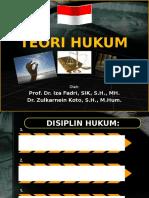 Bahan Kuliah Teori Hukum S-2 STIK-PTIK.