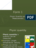 Chapter 1 - Unit and Measurement Tools