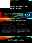 Procesos de Integración en El Mundo