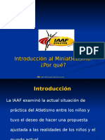 1. Introducción a MINI ATLETISMO