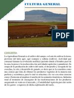Agricultura y su clasificación