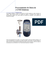 GNSS SOLUTIONES