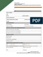Formulario Auxilio Pos-graduandos 2016 1
