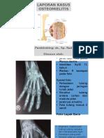 Osteomyelitis