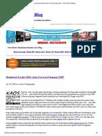 Membuat Script SMS Auto Forward Dengan PHP - Tutorial SMS Gateway
