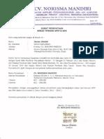 Surat Bebas Temuan APIP&BPK