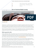 Using Augmented Reality for Contextual Mobile Learning by Jason Haag _ Learning Solutions Magazine