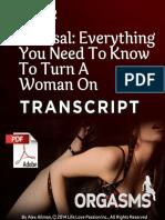 2 - Arousal Transcript