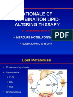 Rationale of Combination Lipid Altering Therapy