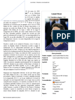 Lionel Messi - Wikipedia, La Enciclopedia Libre