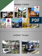 J Ave. stripmall advertising | Affluent Bangkok advertising
