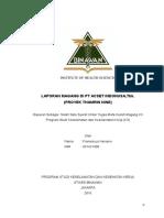 laporan magang diPT. acset