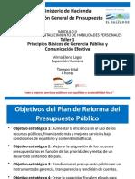 DC4592 1.1 Presentacion Del Taller 1 Principios Basicos de Gerencia Publica y Comunicacion Efectiva