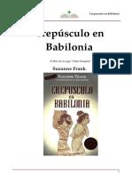 Frank Suzanne - Crepusculo En Babilonia.DOC