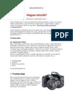 Házi webvideó készítési kulisszatitkok