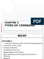 Chapter 3 Types of Companies