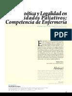 Etica y Cuidados Paliativos