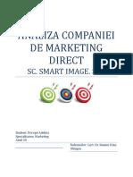 Marketing Direct PROIECT SUSANU IRINA-
