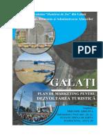 Plan dezvoltare turism Galati PRICOPE ADELINA