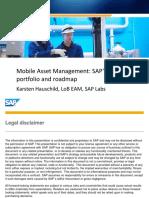 2611 Mobile Asset Management SAPs Solution Portfolio and Roadmap
