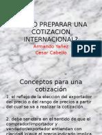 Como Preparar Una Cotizacion Internacional.pptx