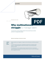 2008 Why Multinationals Struggle to Manage Talent M