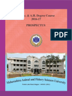 Prospectus - B.v.sc. & a.H.-2016-17