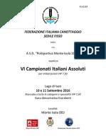 Vi Campionati Italiani Assoluti Vip 7.50