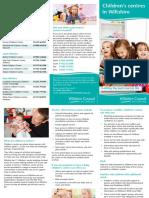 Childrens Centre Leaflet ONLINE VERSION July 16