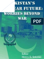 Pakistan's Nuclear Future - Worries Beyond War - Henry Sokolski (SSI 2008)