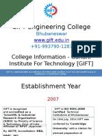 GIFT Engineering College_Basic Info