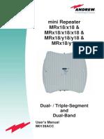MRx18_miniRepeater User Manual