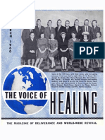 VOICE OF HEALING MAGAZINE