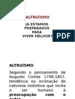 Altruísmo