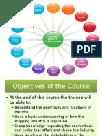 IMO and Maritime Legislations 3000GRT Training