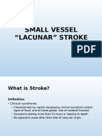 Lacunar Infarct and Syndromes
