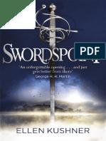 Swordspoint by Ellen Kushner