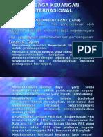 Ppt Lembaga Keuangan Internasional