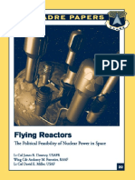Flying Reactors - The Political Feasibility of Nuclear Power in Space - James Downey (AU 2005)