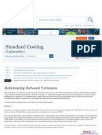 Standard Costing Part 6
