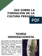 Teorías Sobre La Formación de La Cultura Peruana