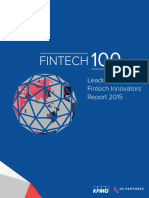 Leading Global Fintech Innovators Report 2015